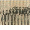 Untitled | Pencil on Cardboard with Collage | 23x56 cm | 2011