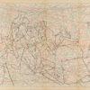 Untitled from Burders Series, 2016, Pencil on Burda Pattern Paper, 57x86 cm0