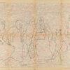 Untitled from Burders Series, 2016, Pencil on Burda Pattern Paper, 57x86 cm1