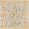 Untitled from Burders Series, 2016, Pencil on Burda Pattern Paper, 57x86 cm3