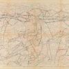 Untitled from Burders Series, 2016, Pencil on Burda Pattern Paper, 57x86 cm5